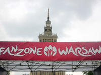 Warszawa i szał Euro 2012 Fanzone Warsaw