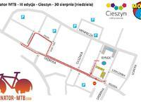 Trasa Finału Eliminatora MTB 2015 w Cieszynie