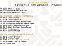 Program Lublin Sportival 2015