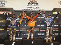 Podium Super Enduro 2012