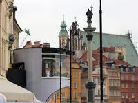 Warszawa i szał Euro 2012 - Kolumna Zygmunta i Studio TV