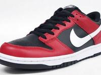 Nike Dunk Low Black/Red