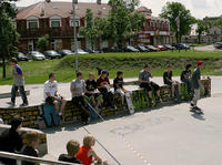 Free-way Skateboarding Session 2011
