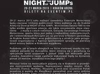 Diverse NIGHT of the JUMPs 2015 - Harmonogram