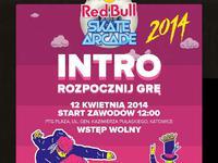 "Intro akcji ""Red Bull Skate Arcade"""