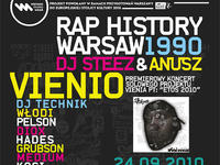 Rap History 1990 - Koncert premierowy Vienio (Molesta Ewenement)