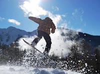 SnowShow BURN SSWEEK LES ORRES na FERIE