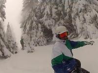 Freeride na szczytach Pilska