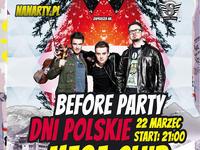 Before Party Dni Polskich w MEGA CLUBIE