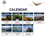 Red Bull Cliff Diving  Kalendarz 2011