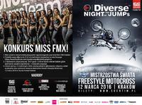 Zostań MISS FMX Kraków 2016 podczas Mistrzostw Świata w Freestyle Motocrossie Diverse NIGHT of the JUMPs