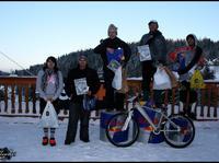 Snow Bike Slalom