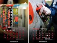 Montana kalendarz na 2011