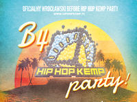 Before party przed festiwalem Hip Hop Kemp we Wrocławiu