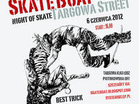 Skateboat Targowa Street