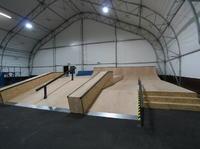 Bydgoszcz Skate park - kryty