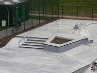 W Wolsztynie powstał betonowy skatepark
