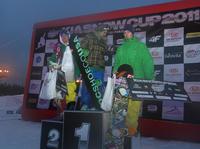 Podium KIA Snow Cup