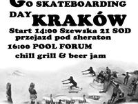 GO SKATEBOARDING DAY KRAKOW