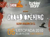 SnowCamp & Bunkier Store Grand Opening