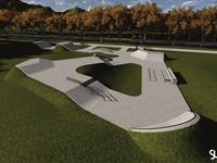 Betonowy skatepark dla Świecia