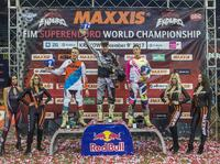 SuperEnduro - podium Puchar Europy