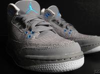 "Air Jordan Retro 3 GS ""Cool Grey Flip"""