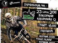 """Rowerowy najazd na Zakopane, czyli """"Downhill Attack"""""""