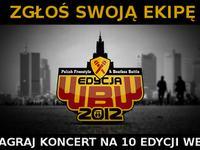 """Konkurs """"Zagraj koncert na WBW 2012"""""""