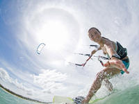 Epic kite surfing => Hel