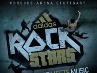 """adidas ROCKSTARS: Bouldering na światowym poziomie z muzyką """"na żywo"""""""