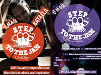 11.05 Warszawa: STEP TO THE JAM workshops - Batalla (DOPE ROC) // STEP TO THE JAM club edition - HIPHOP / POPPING / WAACKING @kl