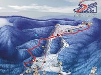 Diverse Downhill Contest Wisła mapa