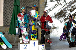 Snowboardowe MP Big Air 2011 Mężczyzn