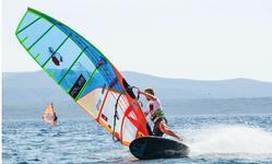 Maciej Rutkowski drugi na Windsurfingowym Grand Prix w Bol