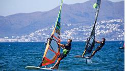 Windsurfing: hydrofoil