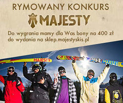 Konkurs Majesty Team Trip