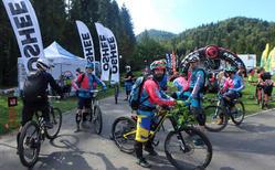 Epickie enduro MTB 2017 w Baligrodzie