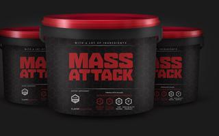 Mass Attack - produkt na rozwój masy mięśniowej