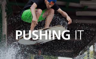 Seventyone Pushing It - pełnometrażowy film skimboardowy