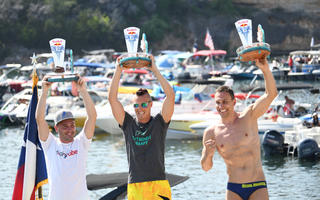 Kolanus wygrał zawody Serii Red Bull Cliff Diving