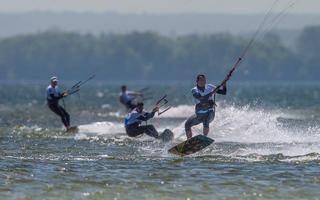 Zakończono pierwsze zawody Pucharu Polski w kitesurfingu
