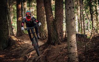 Mistrzostwa Polski Diverse Downhill Contest 2018: helmetcamy tras