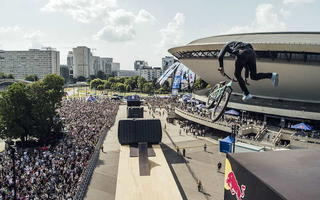 Red Bull Roof Ride w Katowicach