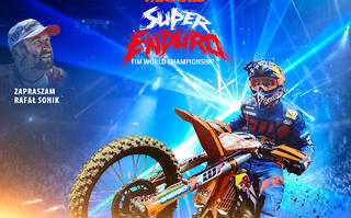 Motocyklowe Mistrzostwa Świata Super Enduro - krakowski Hat-trick
